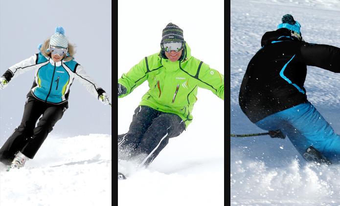El look deportivo en las estaciones de esquí