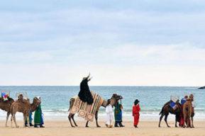 Los Tres Reyes Magos llegarán a San Sebastián
