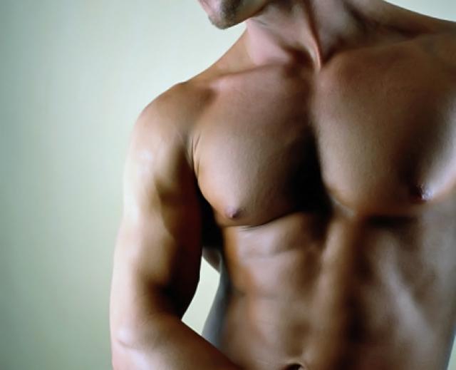 modelo torso desnudo