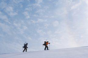 Marchar por la nieve