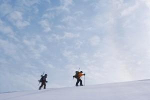 Marchar por la nieve 1