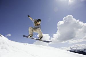 Deportes de invierno: snowboard 1