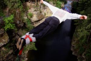 Ideas para San Valentín: bungy jumping 1
