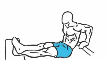 Ejercicios para tríceps: fondos