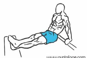 Ejercicios para tríceps: fondos 2