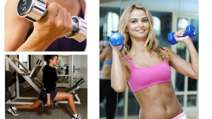 El entrenamiento con pesas para la mujer