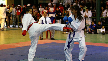 Karate femenino una práctica en auge