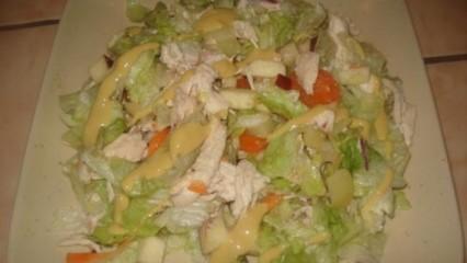 Panaché de pollo y hortalizas