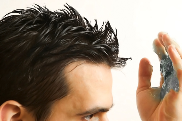 how to style hair with gel for guys gel cera y espuma para crear nuevos peinados punto fape 5977