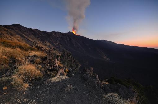 Viento y fuego en la montaña