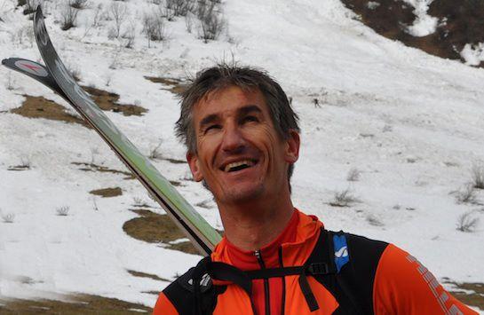 El esquiador Stéphane Brosse