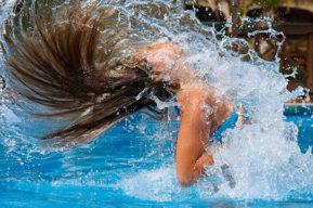 Verano época ideal para practicar aquafitness