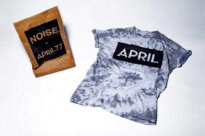 Noise Creation x April 77, las camisetas que causan sensación
