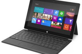 Microsoft Surface, más que una tableta W-Fi