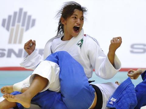 Judoca Menezes, campeona olímpica en 48 kg 1