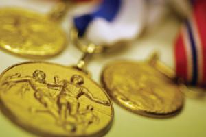 Ser seleccionado para unas olímpiadas