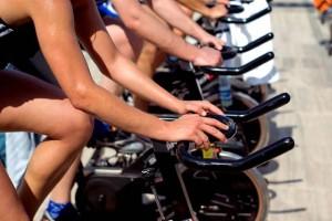 Entrenamientos en bicicletas de spinning