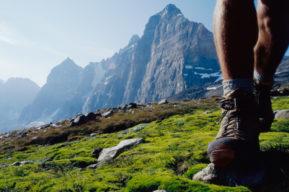 Mantener los pies secos en invierno