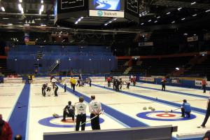 Curling, uno de los deportes olímpicos