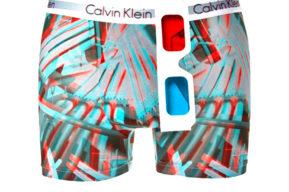 Los boxers 3D de Calvin Klein