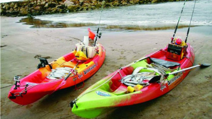 Kayak Fishingn, fin de semana de pesca