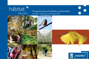 Actividades ambientales otoño 2012 en Madrid