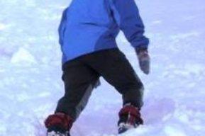 Aeróbicos: marcha por la nieve