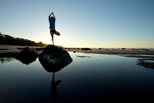 Relajarse con el Yoga