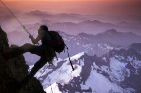 De ruta por la montaña