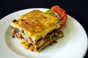Moussaka, receta tradicional de la cocina griega