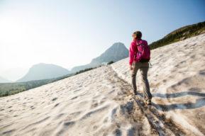 Consejos para caminar por la nieve