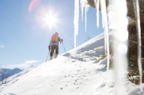 Material extra para hacer montaña en invierno