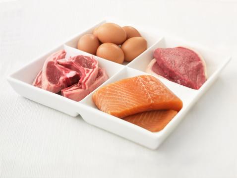Construye músculo con proteína