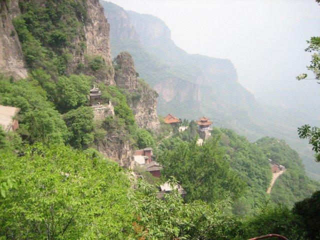 Gran cañón de TaiHang en Asia