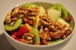 Comer frutos secos es una opción saludable