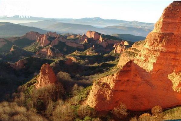 Las Médulas, turismo rural en León