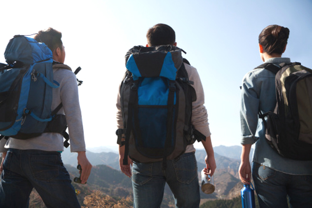 La mochila para senderismo