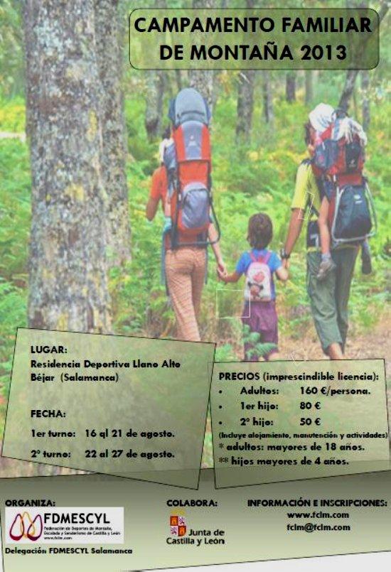 Campamento Familiar de Montaña 2013 en Castilla y León