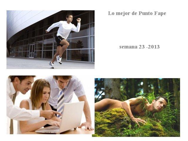 Lo mejor de Punto Fape semana 23 -2013