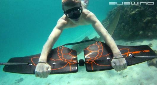 Subwing: buceo y esquí acuático todo en uno