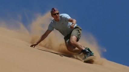 Guía para la práctica de Sand Boarding