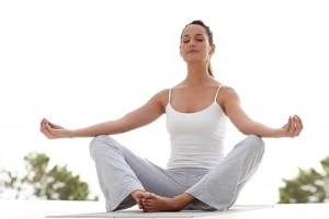 Cómo poner la mente en blanco en las clases de yoga
