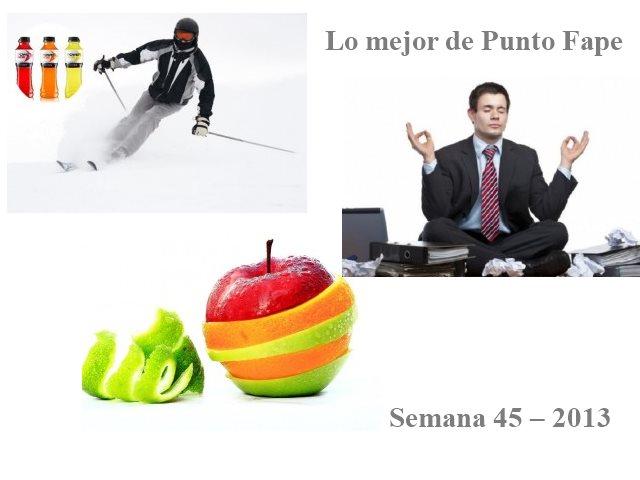 Lo mejor de Punto Fape semana 45 – 2013