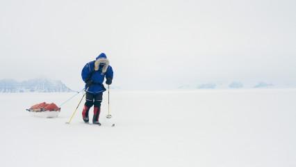 Ben Saunders quiere conquistar el Polo Sur