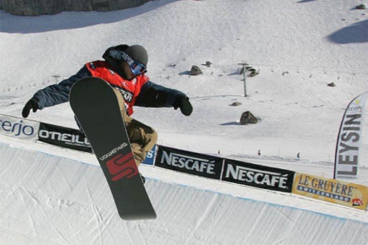 Diferentes tipos de equipos de snowboard
