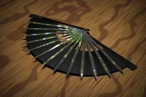 abanico utilizado como arma en Kung Fu