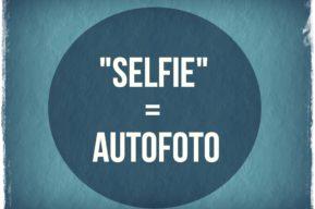 Selfie palabra del año para el diccionario Oxford de inglés