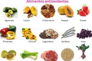 alimenstos antioxidantes