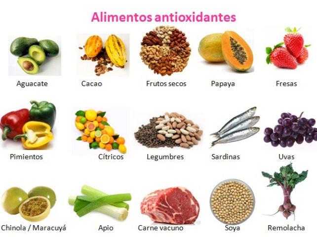 Antioxidantes naturales punto fape - Alimentos que evitan el cancer ...