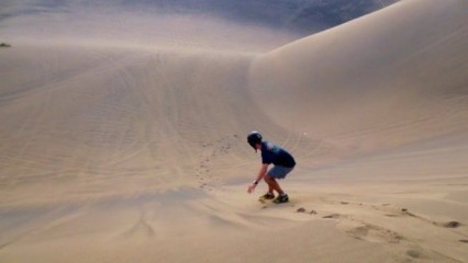 Dunas de Verazcruz: paraíso de los deportes extremos